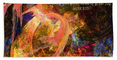 Christmas Angel Beach Towel by Stephanie Grant