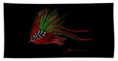 Christmas Fly Beach Towel