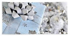 Christmas Gift Box Beach Towel