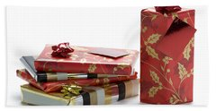 Beach Sheet featuring the photograph Christmas Gifts by Lee Avison