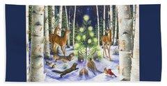 Christmas Magic Beach Sheet