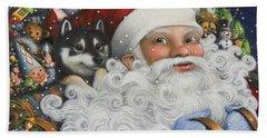 Christmas Stowaway Beach Sheet