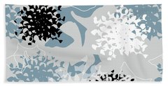 Chrysanthemum Beach Towel by Jocelyn Friis