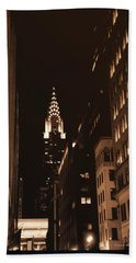 Chrysler Building Beach Sheet