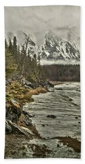 Chugach Range Beach Towel