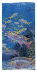 Chum Line Re0013 Beach Towel