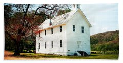 Beach Towel featuring the photograph Church At Boxley by Marty Koch