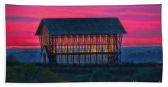 Church On The Hill Beach Towel