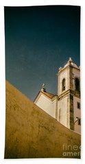 Church Over Wall Beach Towel