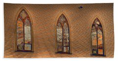 Church Windows Beach Sheet