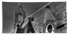Churches On Church Street Beach Sheet
