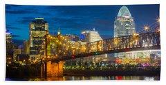 Cincinnati Downtown Beach Sheet