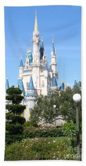 Cinderella's Castle - Disney World Orlando Beach Towel