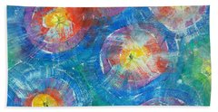 Circle Burst Beach Towel
