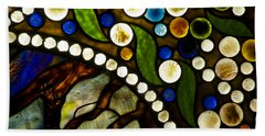 Circles Of Glass Beach Towel