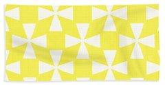 Citrus Twirl Beach Towel