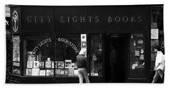 City Lights Bookstore - San Francisco Beach Towel