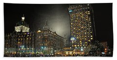 City Never Sleeps Beach Towel