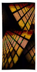 City View Abstract Beach Towel