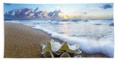 Clam Foam Beach Towel