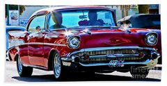 Classic Chevrolet Beach Towel
