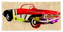 Classic Corvette Beach Towel