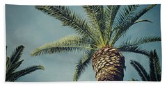 Beach Sheet featuring the photograph Classic Palms2 by Meghan at FireBonnet Art