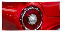 Beach Sheet featuring the photograph 1957 Ford Thunderbird Classic Car  by Jerry Cowart