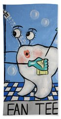 Clean Teeth Beach Towel