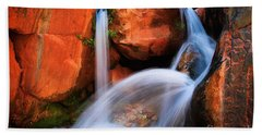 Clear Creek Falls Beach Towel
