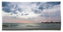 Clearwater Fishing Pier Beach Towel