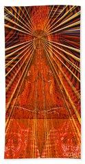 Beach Towel featuring the digital art Meditation by Joseph J Stevens