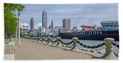 Cleveland Lake Front Beach Towel