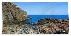Cliff House Maine Coast Beach Sheet