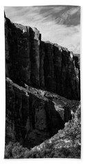 Cliffs In Contrast Beach Sheet