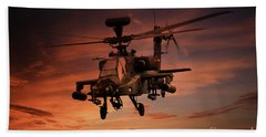 Close Air Support  Beach Towel