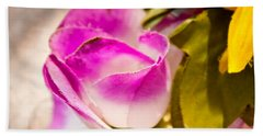 Cloth Rose Bud Beach Towel