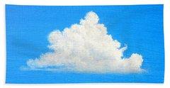 Cloud Over Wetlands Beach Sheet