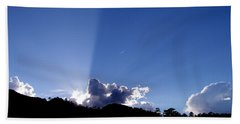 Cloud Rays Beach Towel by Craig T Burgwardt