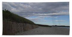 Clouded Beach Beach Sheet by Robert Nickologianis