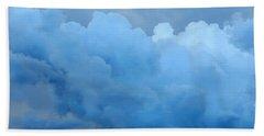 Clouds 2 Beach Sheet