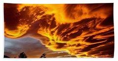 Clouds 2 Beach Sheet by Pamela Cooper
