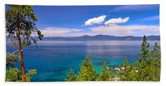 Clouds And Silence - Lake Tahoe Beach Towel