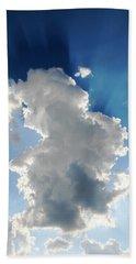 Clouds In The Sun Beach Sheet