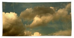 Clouds Of Yesterday Beach Towel