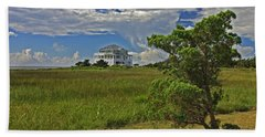Clouds Over Hatteras Beach Towel
