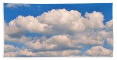 Clouds Over Lake Pontchartrain Beach Towel