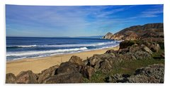 Beach Towel featuring the photograph Coastal Beauty by Dave Files