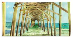 Coastal Cathedral  Beach Towel