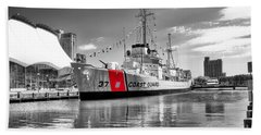 Coastguard Cutter Beach Towel